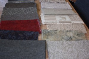 Raffle fabric.