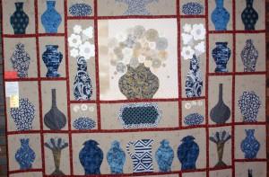 Elizabeth's large quilt.